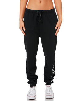 BLACK WOMENS CLOTHING BILLABONG PANTS - 6595747BLK