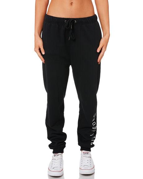 BLACK WOMENS CLOTHING BILLABONG PANTS - 6595747BLK