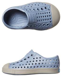 WOLF BLUE GREY KIDS TODDLER BOYS NATIVE FOOTWEAR - 13100100-4237