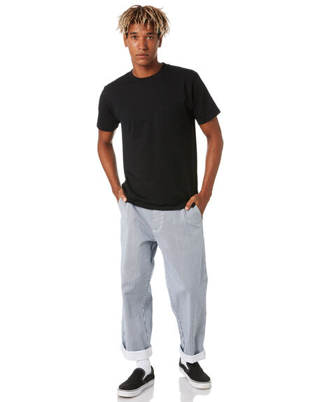 NAVY MULTI MENS CLOTHING OBEY PANTS - 142020131NVM
