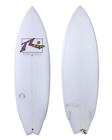 CLEAR BOARDSPORTS SURF RUSTY SURFBOARDS - RUSTYTFCLEAR