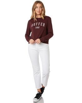 RUM WOMENS CLOTHING HUFFER TEES - WTE92S41-342RUM