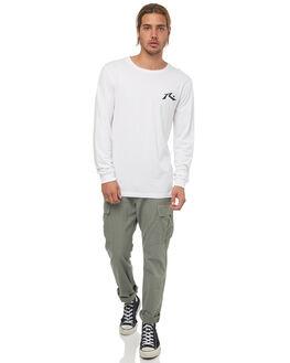 WHITE MENS CLOTHING RUSTY TEES - TTM1880WHT