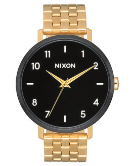GOLD BLACK WHITE WOMENS ACCESSORIES NIXON WATCHES - A10902226