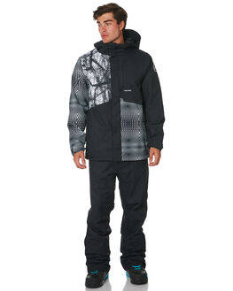 BLACK WHITE BOARDSPORTS SNOW VOLCOM MENS - G0451908BWH