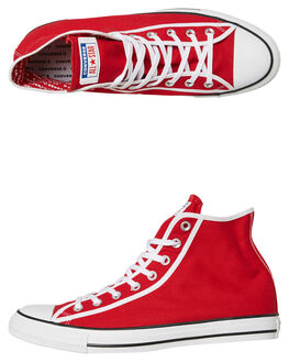 GYM RED MENS FOOTWEAR CONVERSE SNEAKERS - SS163980GREDM
