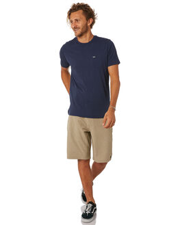 NAVY MENS CLOTHING RIP CURL TEES - CTELL20049