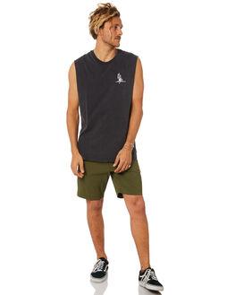 DARK OLIVE MENS CLOTHING BILLABONG SHORTS - 9582701DOLI