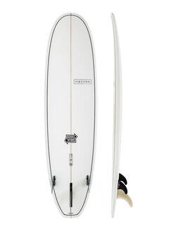 CLEAR BOARDSPORTS SURF MODERN LONGBOARDS GSI SURFBOARDS - MD-DWSLX-CLR