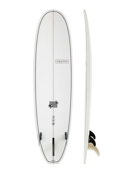 CLEAR BOARDSPORTS SURF MODERN LONGBOARDS GSI SURFBOARDS - MD-DWSLX-CLR