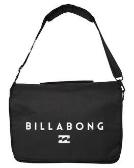 BLACK MENS ACCESSORIES BILLABONG BAGS + BACKPACKS - 9695006ABLK