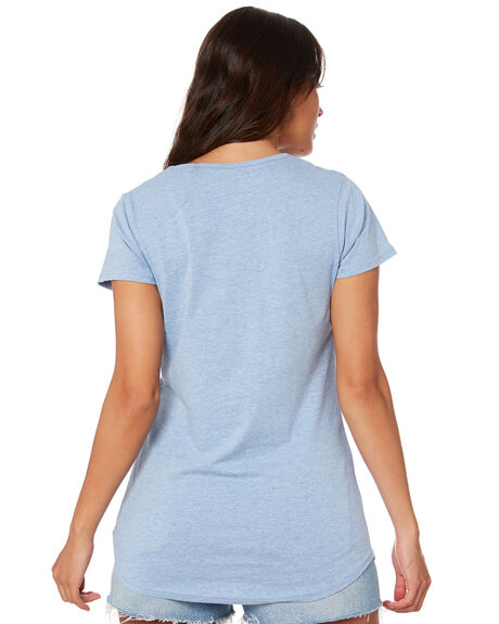 BLUE MARLE WOMENS CLOTHING AS COLOUR TEES - ASC4008BLU