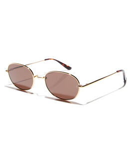 GOLD MENS ACCESSORIES SUNDAY SOMEWHERE SUNGLASSES - SUN176-GOL-SUNGLD