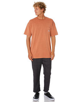 NEW TAN MENS CLOTHING STUSSY TEES - ST005002NWTN