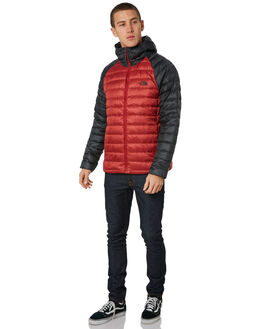 CARDINAL RED MENS CLOTHING THE NORTH FACE JACKETS - NF0A39N487D