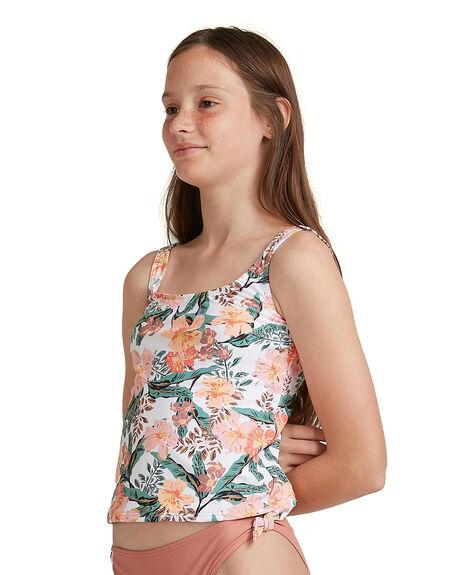 BRIGHT WHITE KIDS GIRLS ROXY SWIMWEAR - ERGX203308-WBB8