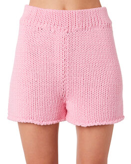 PINK WOMENS CLOTHING ZULU AND ZEPHYR SHORTS - ZZ2852PPNK