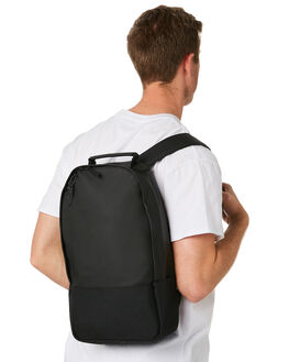 BLACK MENS ACCESSORIES RAINS BAGS + BACKPACKS - RNS1292BLK