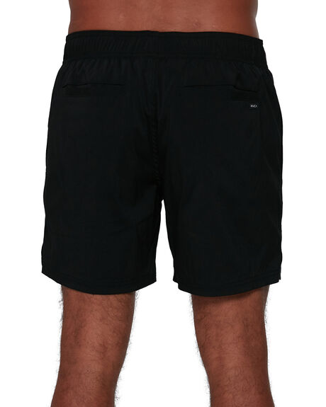 BLACK MENS CLOTHING RVCA SHORTS - RV-R305325-BLK