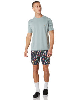 AUSSIE SUMMER MENS CLOTHING BARNEY COOLS BOARDSHORTS - 618-MC4AUSS