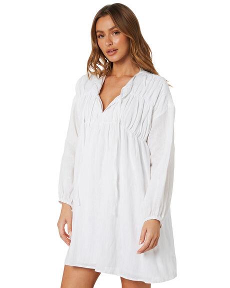 WHITE WOMENS CLOTHING SNDYS DRESSES - SED113WHT