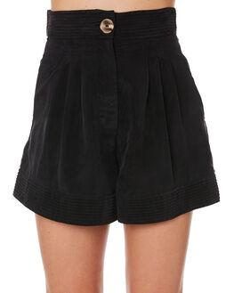 BLACK WOMENS CLOTHING SANCIA SHORTS - 853ABLK