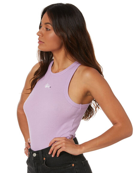 LILAC WOMENS CLOTHING STUSSY SINGLETS - ST1M0154LIL