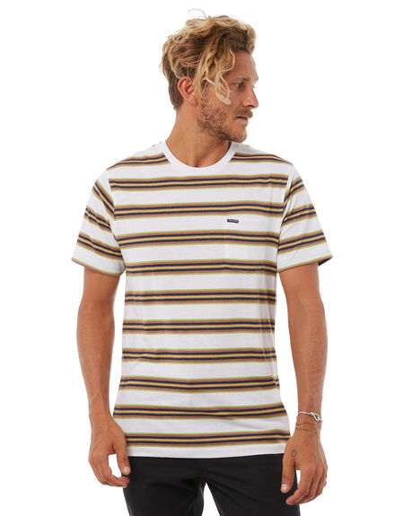 WHITE MENS CLOTHING VOLCOM TEES - A0111805WHT