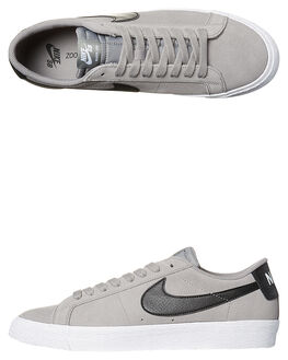 DUST BLACK WHITE MENS FOOTWEAR NIKE SKATE SHOES - SS864347-009M