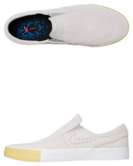 WHITE MENS FOOTWEAR NIKE SKATE SHOES - CD6613-100