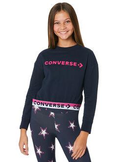 OBSIDIAN KIDS GIRLS CONVERSE JUMPERS + JACKETS - R468913695