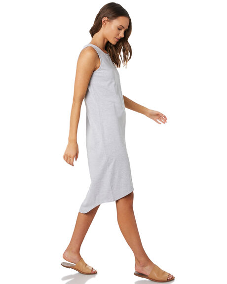 GREY MARLE WOMENS CLOTHING SILENT THEORY DRESSES - 6041017GRY
