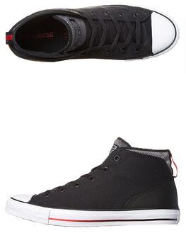 BLACK MASON CASINO MENS FOOTWEAR CONVERSE SNEAKERS - 155479BLK