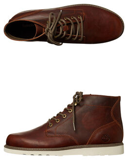 MEDIUM BROWN MENS FOOTWEAR TIMBERLAND BOOTS - A1JUJBRN