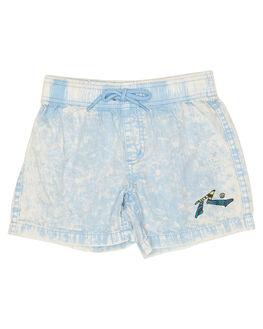 LIGHT BLUE KIDS TODDLER BOYS RUSTY SHORTS - WKR0214LBL