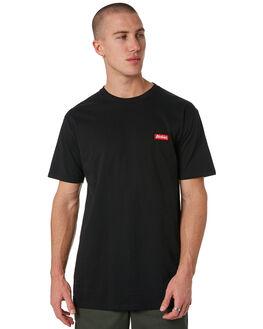 BLACK MENS CLOTHING DICKIES TEES - KU3180104BK