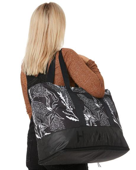 DOMINO OIL GREY WOMENS ACCESSORIES HURLEY BAGS + BACKPACKS - HU0104-014DOMG