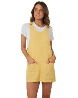 TURMERIC WOMENS CLOTHING RHYTHM DRESSES - OCT18W-DR04TUR