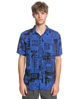 BLUE VORTEX MENS CLOTHING QUIKSILVER SHIRTS - EQYWT03955-PPM6