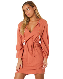 RUSTED PINK WOMENS CLOTHING RUSTY DRESSES - SCL0310RDP