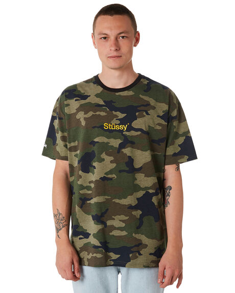 CAMO MENS CLOTHING STUSSY TEES - ST087012CAMO