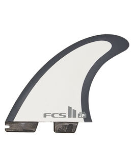 BLACK WHITE BOARDSPORTS SURF FCS FINS - FJPM-PC01-MD-TS-RBLK