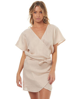 BLUSH WOMENS CLOTHING LILYA DRESSES - LND04-LSM17BLUSH