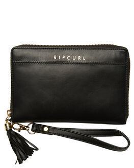 BLACK WOMENS ACCESSORIES RIP CURL PURSES + WALLETS - LWLDR10090