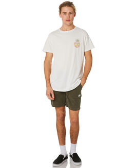 ARMY OLIVE MENS CLOTHING BANKS SHORTS - WS0111ARO