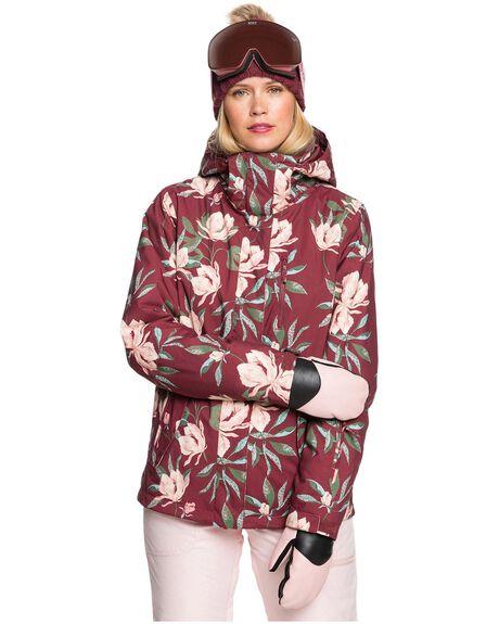 OXBLOOD RED BOARDSPORTS SNOW ROXY WOMENS - ERJTJ03280-RRE3