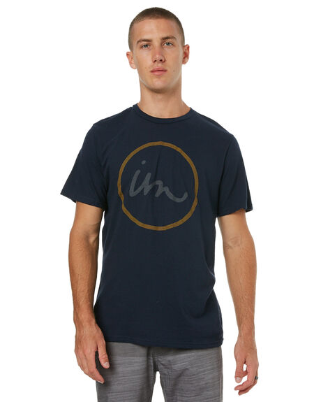 NAVY MENS CLOTHING IMPERIAL MOTION TEES - 201703002070NAVY