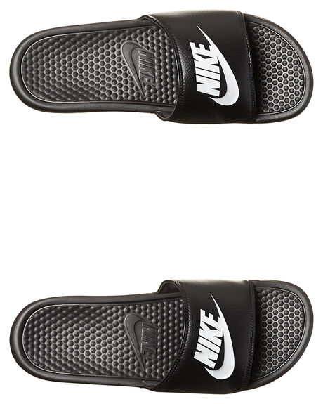 13bb81d73 Nike Womens Benassi Just Do It Slide - Black White