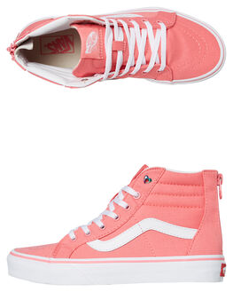 STRAWBERRY PINK KIDS GIRLS VANS SNEAKERS - VNA3276VIISPINK