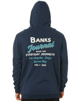 DIRTY DENIM MENS CLOTHING BANKS JUMPERS - WFL0230DDN